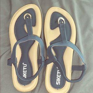 Siketu rose bottom women's 9.5 sandals